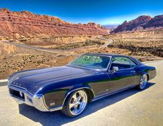 1968 Buick Riviera. In its time, it was one hot car.