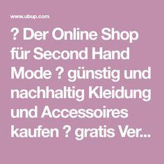 Second hand kleidung im internet kaufen