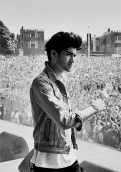 Zayn... The clothes designers should pay HIM to wear their clothes. Oh annnnndddd STUBBLE! :)