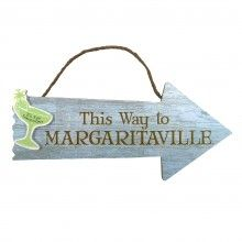Margaritaville Arrow Wood Sign