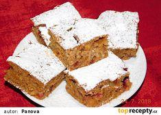 Švestkovo-mrkvový perník recept - TopRecepty.cz Feta, Dairy, Cheese