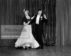 Stock Images of Couple Man And Woman In Formal Wear Ballroom Dancing On Stage - Search Stock Photography, Poster Photos, Pictures, and Photo Clip Art - Ballroom Dance Dresses, Ballroom Dancing, Fashion Over 50, Perfect Photo, Old Hollywood, Formal Wear, Cool Style, Vintage Fashion, Couples