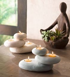 How to Design an In-Home Meditation Room Office Deco, Zen Office, Meditation Room Decor, Meditation Space, Yoga Meditation, Stone Cairns, Zen Interiors, Zen Home Decor, Zen Bedroom Decor