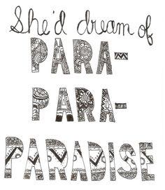 Para-para paradise...