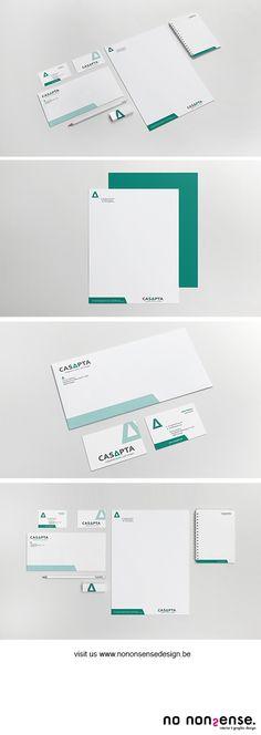 Huisstijl Casapta #huisstijl #grafischevormgeving