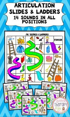 14 games boards addressing 14 different sounds! Sounds addressed in this… Articulation Therapy, Articulation Activities, Speech Activities, Speech Therapy Activities, Speech Language Pathology, Speech And Language, Language Activities, Phonics, Ch Words