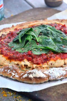 Gluten-Free Pizza | Gluten-Free Pizza Recipe | Gluten Free Recipes - The Healthy Apple