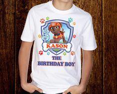 Paw Patrol Birthday shirt/ Paw Patrol shirt/ Paw Patrol Family shirts/ Mom Patrol/ Dad Patrol/ Bro Patrol/ tshirt/ tee/ t shirt/ t-shirt Birthday Boy Shirts, Girl Birthday, Family Shirts, Boys Shirts, Paw Patrol Shirt, Paw Patrol Birthday, How To Make Tshirts, Personalized Shirts, Bro