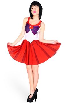 Sailor Mars dress by Living Dead