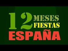 Este video presenta imagenes de 12 fiestas en Espana. Teach Spanish holidays and months at the same time!