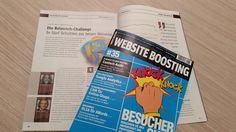 """Sie planen eine neue Webseite oder haben vor kurzem eine neue Webseite bekommen? Dann ist unser Artikel in der aktuellen Website Boosting zum Thema """"Die Relaunch Challenge """" genau die richtige Dezember Lektüre für Sie. Vermeiden Sie lästige und teure Stolperfallen! Die neue #WebsiteBoosting gibt es ab sofort im Zeitschriftenhandel oder unter www.websiteboosting.com  Auslöser für diesen Artikel war, dass wir immer öfter auch schon in dieser Phase von Kunden um Rat gebeten werden. Online Shops, Ab Sofort, Rat, Challenge, Blog, Website, December, Magazines, Things To Do"""