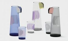 Pour me: Tomas Kral's Parrot glassware for Nude