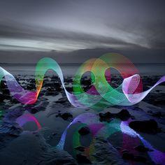 David Gilliver - Long Exposure light painting