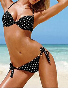 Venus Queen Women's Fresh Polka Dots Bikini VQ00169. Get immaculate discounts up to 80% Off at Light in the box using Coupons.