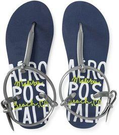 Aero Graphic Quarter-Strap Sandal