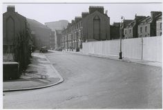 stockwell road, london, No cars about and bombsites either side. South London, Old London, London Life, New South, Interesting History, Brixton, Vintage Photographs, Monochrome, The Past