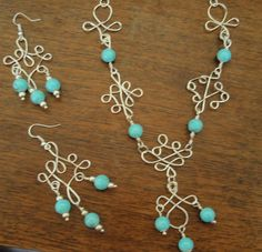 Special order of hand made jewelry from DiansEarrings at Etsy.