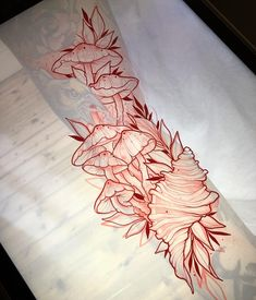 68 Ideas Tattoo Leg Sleeve Sketch For 2019 Foot Tattoos, Flower Tattoos, Body Art Tattoos, Sleeve Tattoos, Tatoos, Tattoo Sketches, Tattoo Drawings, Trendy Tattoos, Psychedelic Art