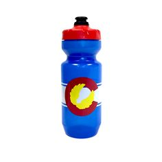 Stay hydrated on the go with our Colorado Flag water bottle