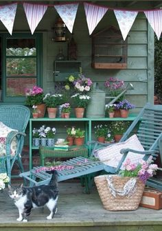 ( ◜◡‾)(‾◡◝ ) A little country porch~