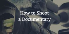 No amount of creative editing can make your footage interesting if you fail in production. To help you, here's a brief guide on how to shoot a documentary. http://jonathancraig.org/how-to-shoot-a-documentary/