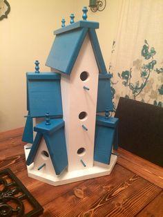 Beautifully Handcrafted XTRA Large Birdhouse by TheFlowerPotbyJen
