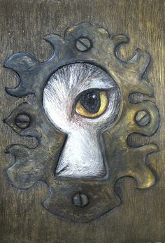 Through The Keyhole Examples. Could have students draw their dreams, surrealism, peering into what is inside...