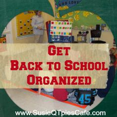Are you ready to get organized for Back to School #backtoschool