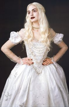 Alice in Wonderland White Queen - Costume Inspiration