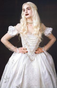 Alice in Wonderland White Queen - Costume Inspiration