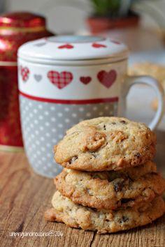 Cookies Al Cioccolato E Nocciolini | Un Pinguino In Cucina