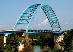 South Pittsburg Bridge/Shelby Rhinehart Bridge, Tennessee, USA