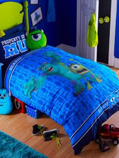 monsters university bedding | ... » Childrens Bedding » Boys Bedding » Monsters University Bedding