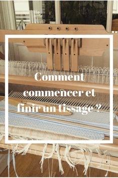 Comment Commencer et finir un tissage Embroidery Patterns Free, Machine Embroidery Applique, Embroidery Fabric, Hand Embroidery Designs, Tapestry Weaving, Loom Weaving, Hand Weaving, Diy Broderie, Weaving Projects