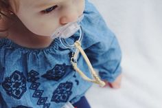 Baby Faves: Madeline's Box Braided Pacifier Clips