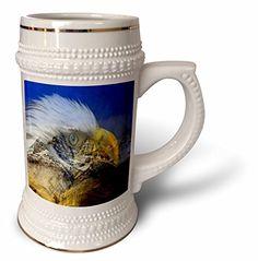 SmudgeArt Bird Art Designs - Eagle Lookout - Spirit Of The Mountains - 22oz Stein Mug (stn_101116_1) 3dRose http://www.amazon.com/dp/B014E0BX52/ref=cm_sw_r_pi_dp_K38bwb02YD9W7