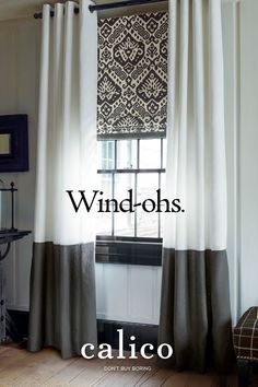 Window Treatment Ideas - Get oohs and ahhs with Calico window treatments, from drapes to Hunter Douglas shades. Our free design consultants will tailor our thousands of options to your home's needs. Click to read more.