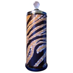Salon Skins Decorative Barbicide Jar Wrap: Le Tigre