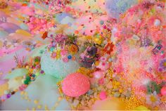 Colorful Mounds of Sugar Form Fantasy Landscapes in Pip and Pop's Installation Work « Beautiful/Decay Artist & Design