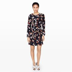 Paget Silk Dress - Day to Night The Dress Shop at Club Monaco