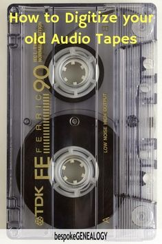 How to Convert Cassette Tapes to CDs How to digitize your old audio tapes. You may have valuable old family history material or music on them to preserve. This can be done for free with an old tape player and your laptop. Technology Hacks, Computer Technology, Energy Technology, Medical Technology, Computer Programming, Futuristic Technology, Digital Technology, Frequency, Information Technology