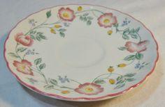 Churchill Porcelain TEA CUP Saucer SET Flowers Floral Design Made IN England | eBay