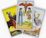 Three Card Tarot Spreads from Biddy Tarot