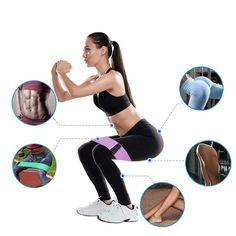 Ob Sie Ihre Arme, Ihre Oberschenkel, Gesäß oder Bauch trainieren möchten, mit diesen Bändern können Sie alles machen! Ganz gleich, welches Fitnessniveau Sie haben, diese Bänder mit 3 Widerstandsstufen sind so konzipiert, dass sie jedes Training in jeder Fitnessroutine verbessern. Sie können auf Ihrem eigenen Niveau trainieren und sich immer weiter verbessern. Band Workout, Hip Workout, Workout For Wider Hips, Deep Squat, Beautiful Figure, Sport Motivation, Yoga Fitness, Squats, Workout Routines