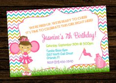 Custom Cheer Cheerleading Party Birthday Invitations - DIY Printable File on Etsy, $8.00