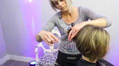 Aprenda a fazer um corte de cabelo curto e veja a transformação!  #cabeleireiro #shorthaircut #pelocorto #cabeloscurtos