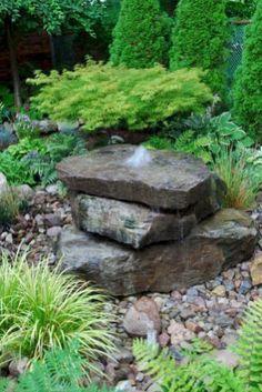 Stunning and creative diy inspirations for backyard garden fountains (13)