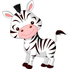 This adorable zebra is ready to gallop into your next Facebook message.