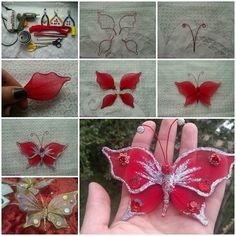 Spring is in full bloom and Summer is coming! Let's make some butterfly crafts to fly around our house and garden. Here is a nice tutorial on how to make a beautiful butterfly with nylon and wire. It's great for decoration in your room, garden and for party. Let's get …