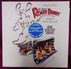 vintage vinyl record who framed roger rabbit soundtrack disco de la banda sonora quien engano a roger rabbit by misstaito pinterest roger - Who Framed Roger Rabbit Soundtrack